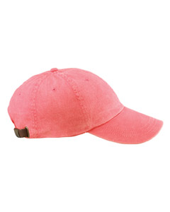AD969 Adams 6 Panel Low Profile Washed Dyed Cap