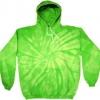 8777 Spider Lime Hoodie